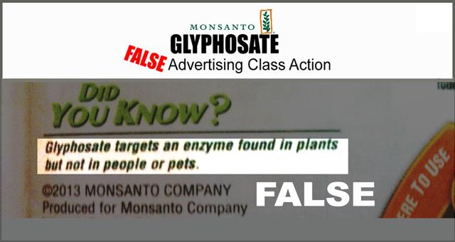 Monsanto Roundup Classaction Lawsuit