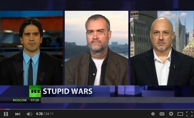 The Failed War on Terror is a success - Ken O'Keefe Debates Stupid Wars
