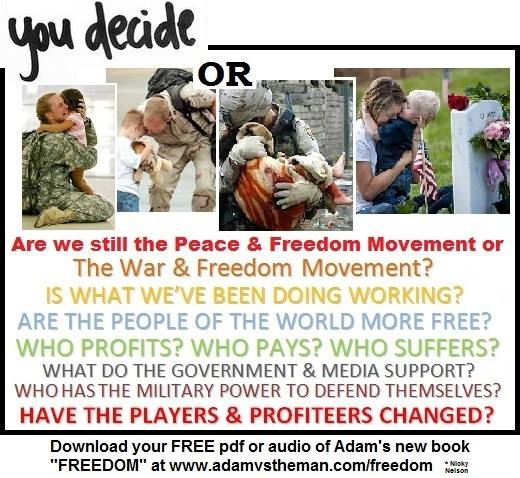 Are we the peace and freedom movement