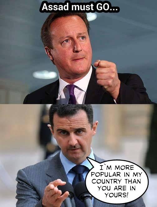 Assad and Cameron